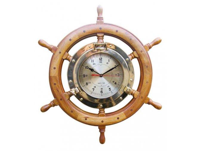 Mosazné hodiny v kormidle 1211