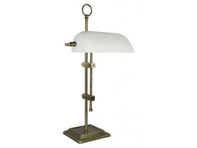 Lampa bankéřská - antik
