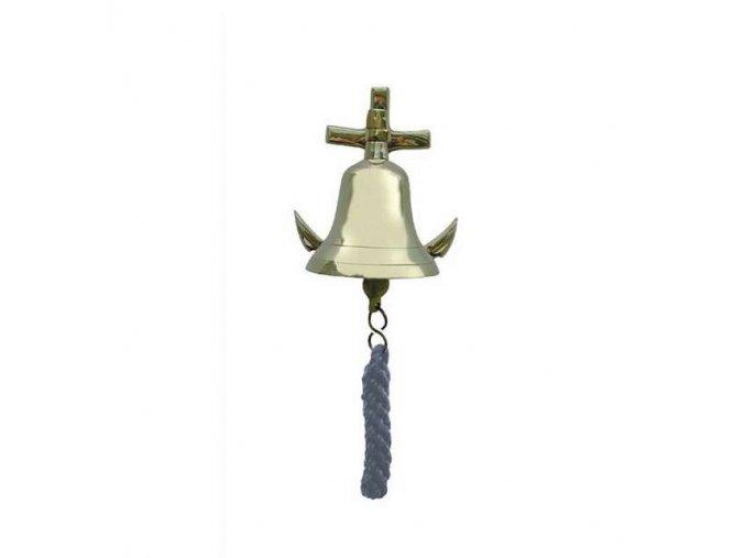 Lodní zvon +  kotva - 7,5 cm