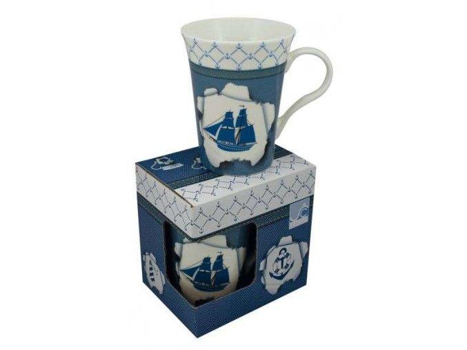 Porcelánový hrnek - loď