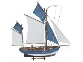 Rybářská  plachetnice
