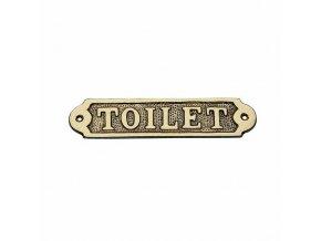 "Cedulka ""Toilet"""