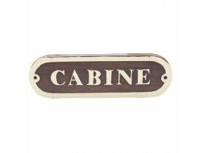 Cedulka CABINE