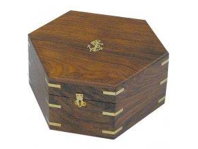 Dřevěný box  pro sextant  8201S