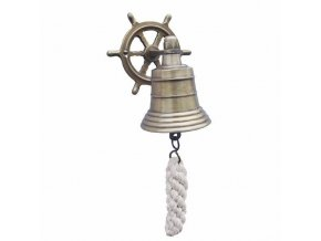 Lodní zvon ANTIK - kormidlo