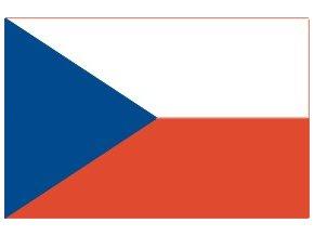 Vlajka CZ 40 x 60cm