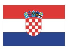 Vlajka Chorvatsko 20x30cm