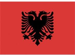 Vlajka Albánie 20x30cm