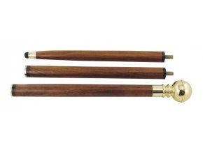 Vycházková hůl s kompasem