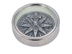 Kompas stříbrný