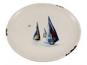 Keramický talíř 22 cm