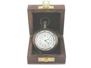Kapesní hodinky v krabičce