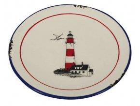 Keramický talířek  - motiv maják