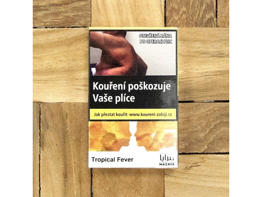 Tabák Mazaya Tropical Fever 5 x 10 g
