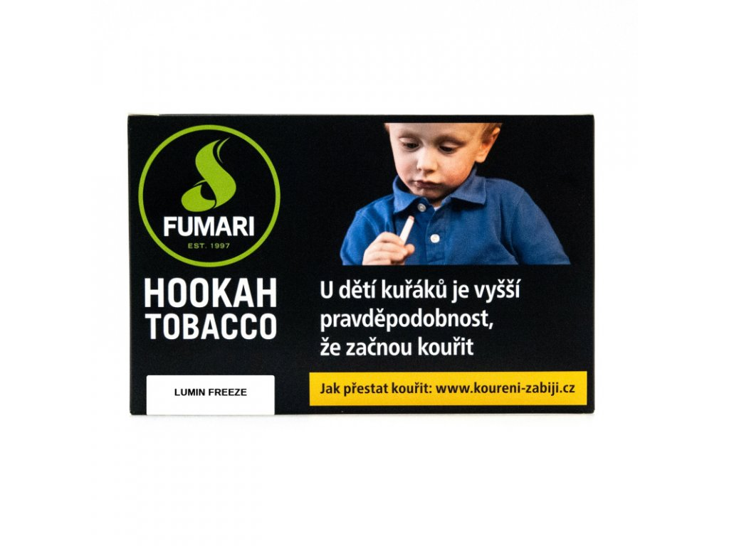Tabák Fumari Lumin Freeze 5 x 10 g