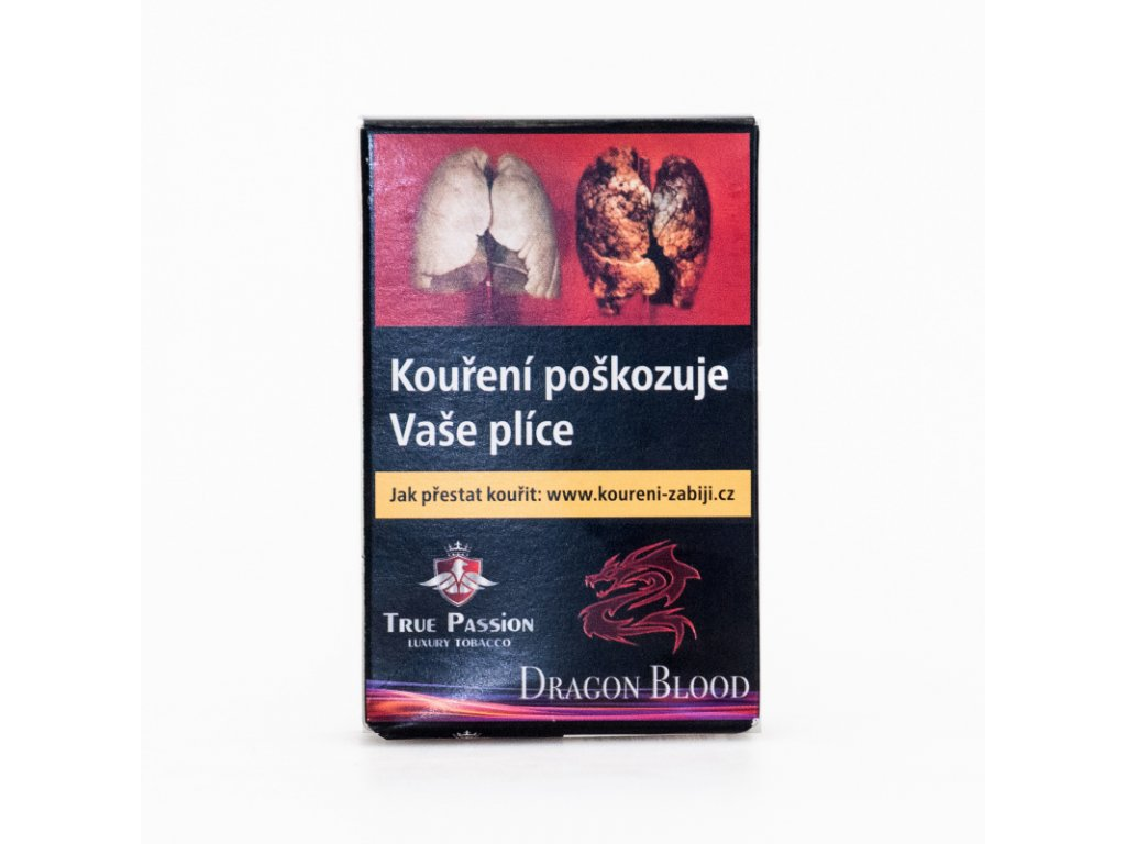 Tabák True Passion Dragon Blood 5 x 10 g