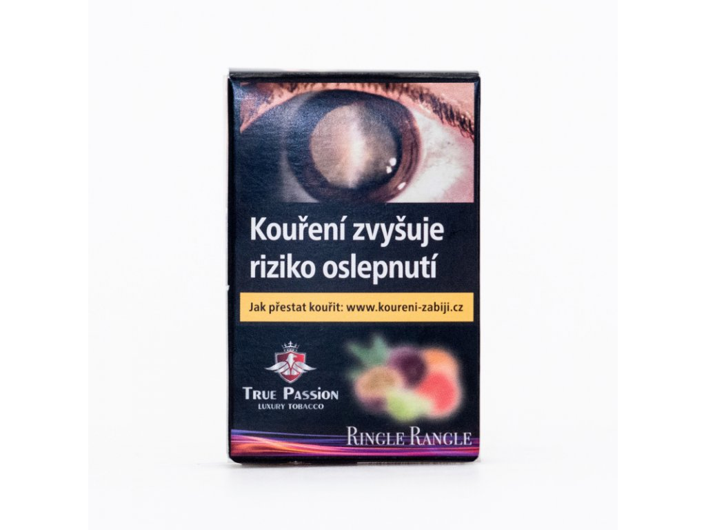 Tabák True Passion Ringle Rangle 5 x 10 g