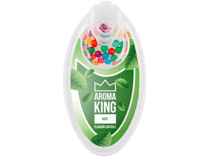 aroma king aromakugeln mint minze