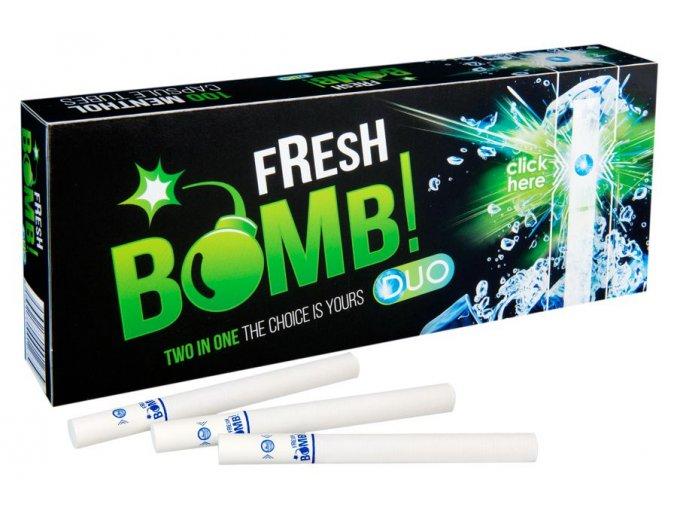Práskací dutinky FRESH BOMB MENTHOL - filtr 20mm!