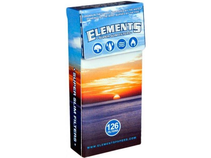 Super Slim Filtry Elements Pop-Up 126ks