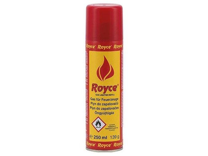 Plyn do zapalovačů Royce 250ml