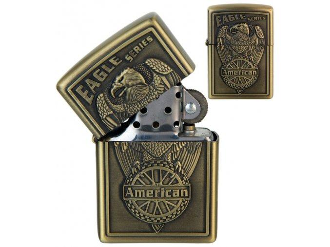 Benzínový zapalovač AMERICAN EAGLE 03