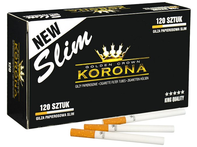 SLIM dutinky Korona 120ks