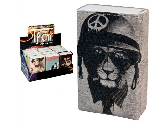 Koženkové pouzdro na měkké krabičky RETRO 01