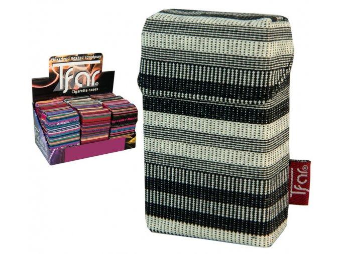 Textilní pouzdro na cigarety LINES TEXTILE  PATTERN 02
