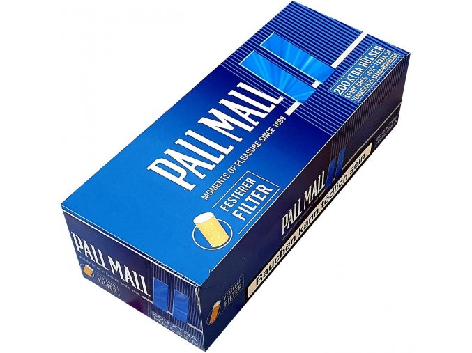 Dutinky EXTRA PALL MALL Blue 200 - filtr 24mm!