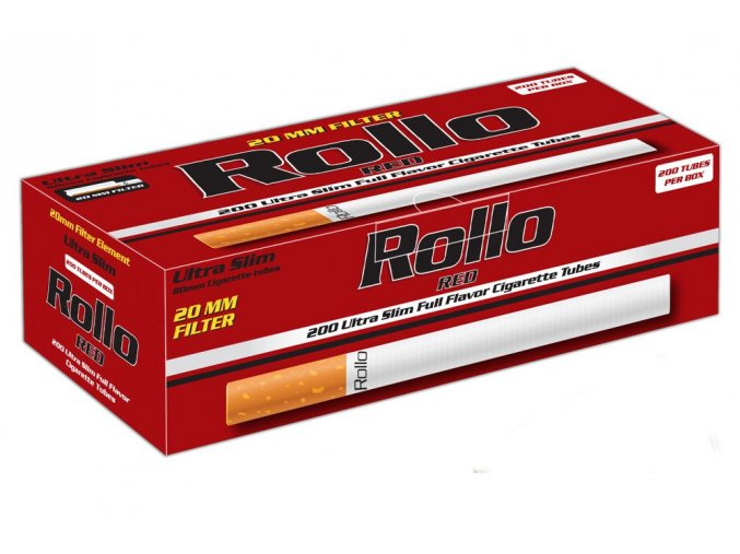Rollo ultra slim red 02