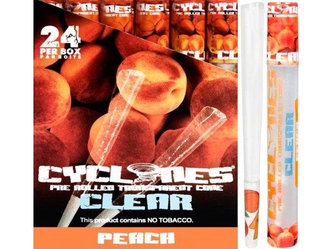 Cyclones Clear Peach 1ks