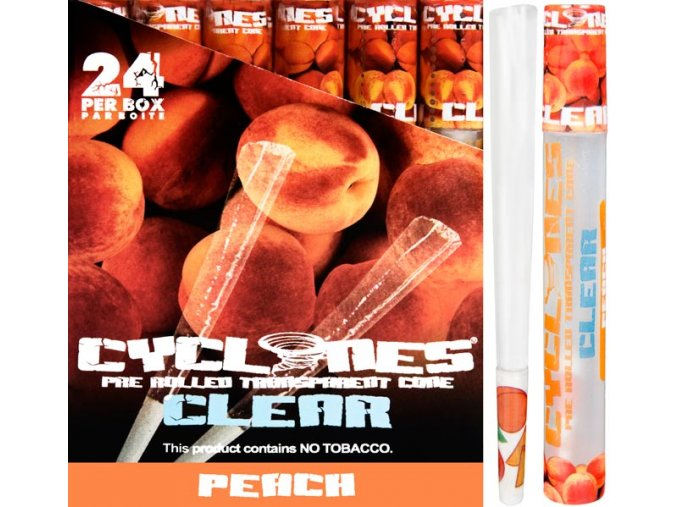 Cyclones Clear Peach