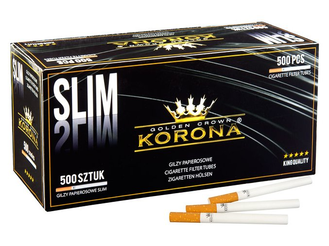SLIM dutinky Korona 500ks