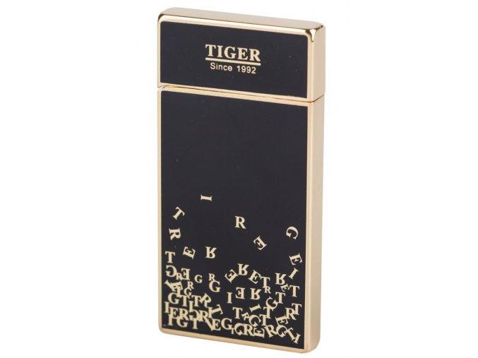 lighter usb tiger black 031