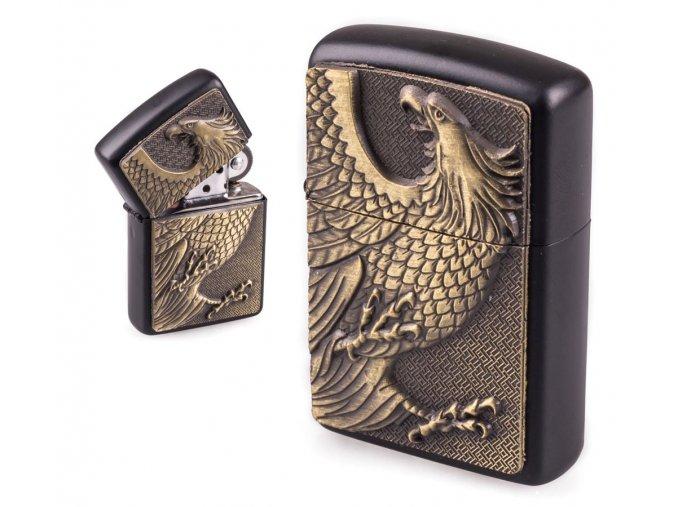 oil lighter black eagle 013