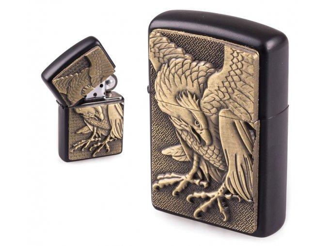 oil lighter black eagle 023