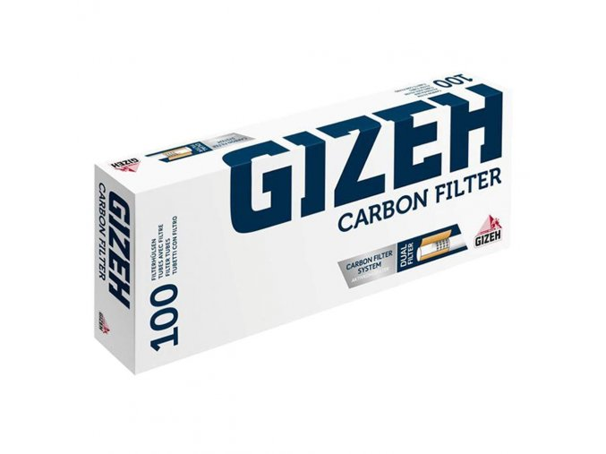 Dutinky GIZEH Silver Tip CARBON 100