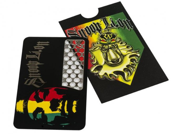 Kovová drtička CREDIT CARDS v pouzdru 03