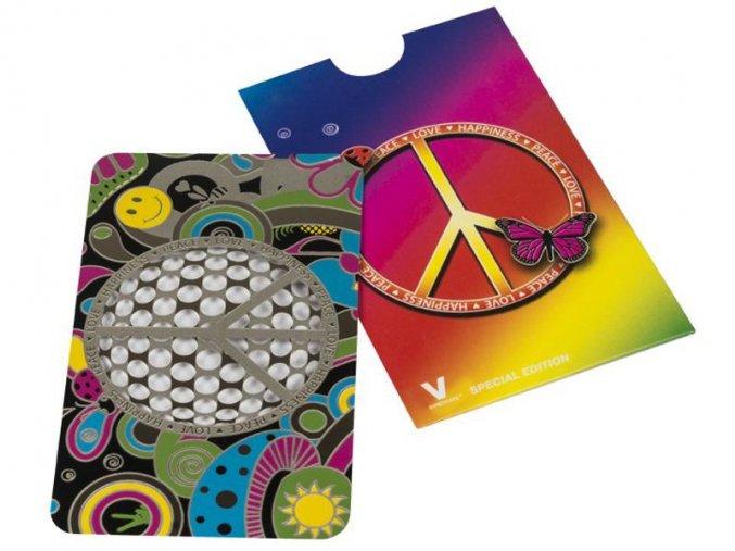 Kovová drtička CREDIT CARDS v pouzdru 06