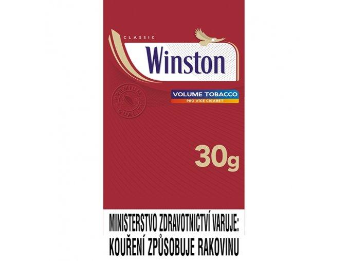 WINSTON Pouch 30g (MOC 147Kč)