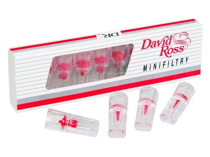 DAVID ROSS Mini Filtry 10ks