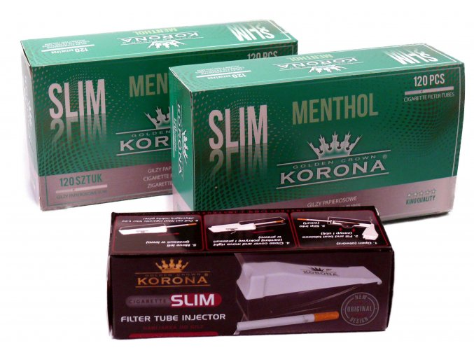 Start set KORONA SLIM MENTHOL