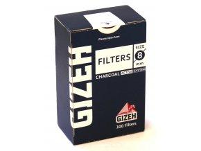 Gizeh uhlíkové filtry 100 ks