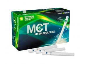 Práskací dutinky MCT MENTHOL - filtr 20mm!