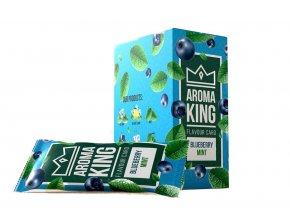 AROMA KING BLUEBERRY MINT - ochucená karta