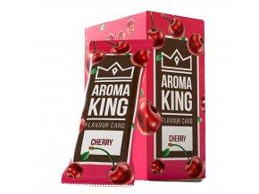 AROMA KING CHERRY - ochucená karta