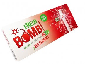 fresh bomb red gourmeterdbeer 5er gebinde je 100 huelsen