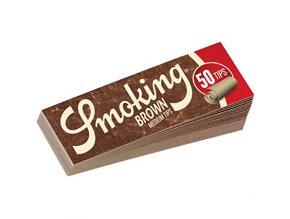 Trhací filtry Smoking Brown Tips Natural