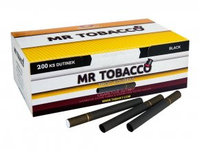 Černé dutinky MR TOBACCO 200 (stejné filtry jako Marlboro)